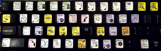 Ableton: горячие клавишы